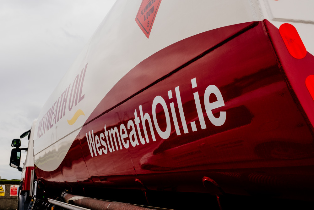 A high quality Westmeath Oil delivery truck